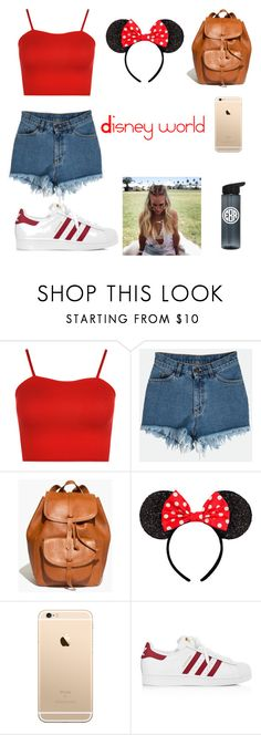 """""""Disney world 🌎"""" by millyweston ❤ liked on Polyvore featuring WearAll, Madewell and adidas"""