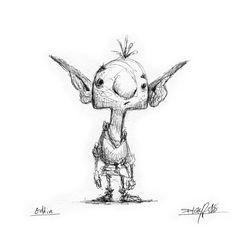 Demon Drawings, Fairy Drawings, Dark Art Drawings, Fantasy Drawings, Creature Drawings, Fantasy Kunst, Cartoon Drawings, Fantasy Art, Fairytale Drawings