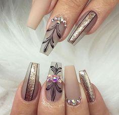 #nails #nailart ##naildesigns - credits to the artist