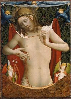 Vir Dolorum, Master Francke c. 1430 Christ Man of Sorrows