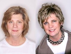 Before and After Hair Styles - Michael Christopher
