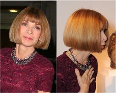 I handpick the best hairstyles for women in their 60s, from bobs, to shoulder-length cuts to hair color and more. Find out what would work on you.: Anna Wintour (1949)