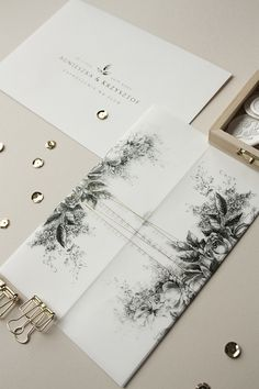 Floral Wedding Invitations, Invites, Monogram, Gift Wrapping, Prints, Weddings, Invitations, Paper Wrapping, Bodas