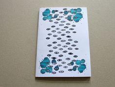Augen Motiv - Notizheft A5/A6 von Irina Mmurs Things auf DaWanda.com