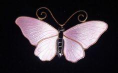 Vintage Norway Sterling Silver Pink Enamel Butterfly Brooch Signed SV 925   eBay Butterfly Jewelry, Butterfly Flowers, Butterflies, Norway, Insects, Buy And Sell, Enamel, Brooch, Sterling Silver