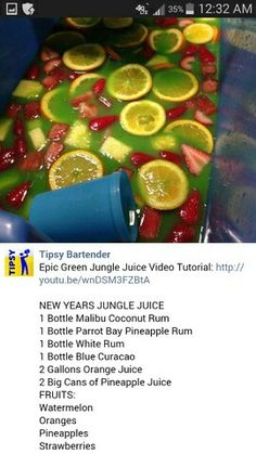 Juice recipes 859835753842236335 - Non Alcoholic Green Jungle Juice Recipe Drinks Non Alcoholic Green Jungle Juice Recipe – Best Recipes Around The World Source by reichertclaudineziemann Liquor Drinks, Cocktail Drinks, Cocktails, Juice Drinks, Green Jungle Juice Recipe, Jungle Juice Recipes, 5 Gallon Jungle Juice Recipe, Jungle Juice Recipe Cheap, Easy Jungle Juice