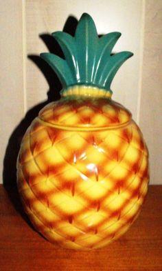 Abingdon Pineapple Collector Cookie Jar