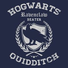 Quidditch Ravenclaw T-Shirt If you are analytical, intelligent, logical but…