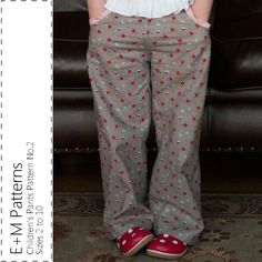 Children's Pants Pattern No2 - New Cover Listing.png
