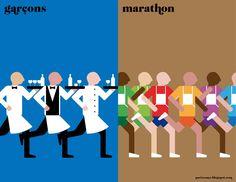 Paris vs NYC by Vahram Muratyan