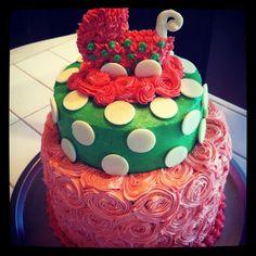 Baby shower cake..:)