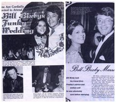 Bill Bixby and Brenda Benet 1971