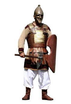 A persian immo. 3d Fantasy, Fantasy Armor, Medieval Fantasy, Ancient Mesopotamia, Ancient Civilizations, Persian Warrior, Sassanid, Grandeur Nature, Ancient Armor