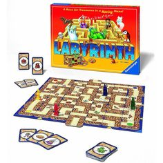 Labyrinth is the award-winning board game from Ravensburger of Germany. Who doesn't love a good treasure hunt? Labyrinth helps builds problem-solving skills and complex thought processes, while having