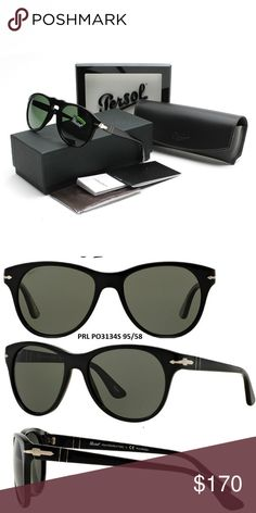 Persol Sunglasses Polarized 100% New & Authentic Elite Golf Sunglass is a family business that began with a passionate interest in sunglasses for outdoor occasions. We took this passion to the next level by venturing into a fully managed virtual business. Our mission is to provide our customers with 100% authentic sunglasses, Rx eyeglasses, and other sporting merchandise with fast delivery service and excellent customer service.   Frame: Acetate  Lens: Polarized Gender: Women/Unisex  100%…