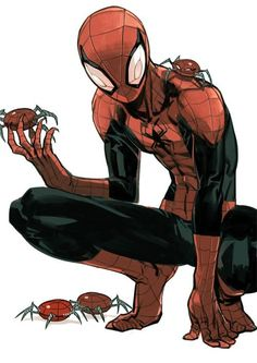 Spider-man by Shioshiorz
