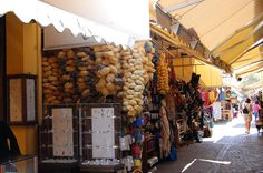 Crete - wonderful old town Chania- markets paradise