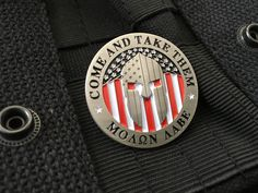 Express yourself with this 1 metal collectible pin. Double post on the back so you can secure it to your clothes or gear! Military Post, Molon Labe, Gun Rights, Challenge Coins, Hunting Rifles, Metal Pins, 2nd Amendment, Guns And Ammo, Hat Pins