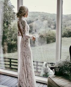 """20b Beğenme, 138 Yorum - Instagram'da Pelin Kaya (@modavesosyete): """"Dantelin ve giyenin zarafeti #wedding #dress #hair #look #style #loveit #lovethispicture…"""""""