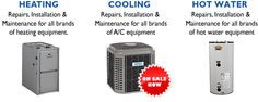 JCJ Mechanical Heating & Air Conditioning offers sales, service and installations of central air conditioning, heating, furnaces and boilers Heating Furnace, Water Heating, Heating And Cooling, Miele Dishwasher, Water Solutions, Appliance Repair, Air Conditioners, Boiler, Conditioning