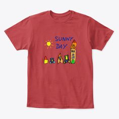 Sunny Day Products from Young family Young Family, Sunny Days, Sunnies, Kids Outfits, Children, Mens Tops, T Shirt, Clothes, Products