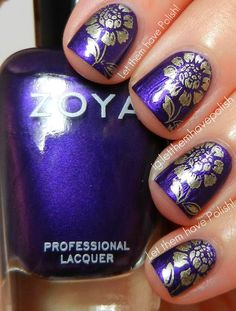 Zoya Suri and RA119 stamped with China Glaze Passion