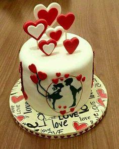 #cake #heart #love