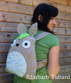 Totoro backpack Totoro bag fan fashion can be by RhubarbTabard