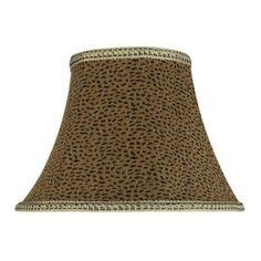 "13"" Fabric Bell Lamp Shade"