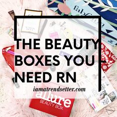 The beauty subscription boxes you need RN😍 — Fancy Makeup, Love Makeup, Sephora Play Box, Different Shades Of Red, Brown Mascara, Beauty Box Subscriptions, Makeup Samples, Facial Cleansers, Talent Show