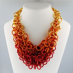 Love statement necklaces.