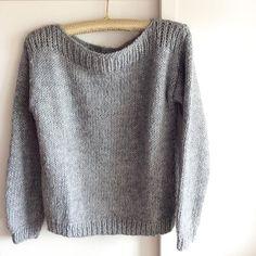 Simplicity is... #sweater #woolblend #handmade #anaflouro #knitwear #knittingforU #sparklecollection #limitededition / More info: ana.f.louro@gmail.com