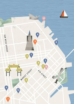 Map Design, Book Design, Layout Design, Atelier Theme, Map Icons, Visual Communication Design, Presentation Layout, Information Design, Pixel