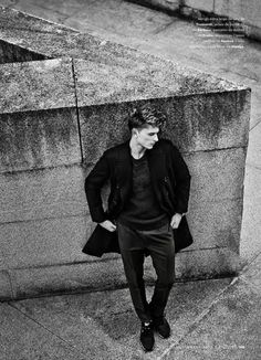 Max Rendell for Esquire Magazine by Bela Adler and... | male model