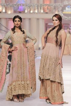 Uzma Babar Collection Telenor Bridal Couture Week 2015 Pics