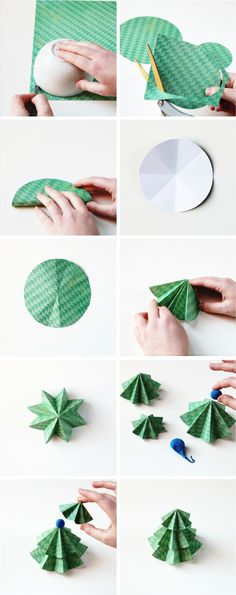 How to make Diy Paper Christmas Trees