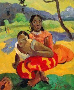 Somnolencia deliciosa, Nave Nave Moe Autor: Paul Gauguin Fecha: 1894 Museo: Museo del Hermitage Características: 73 x 98 cm. ...