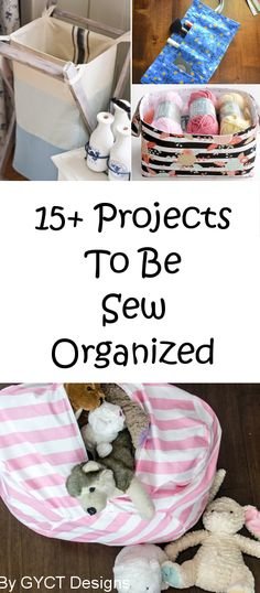 15+ Sewing Projects