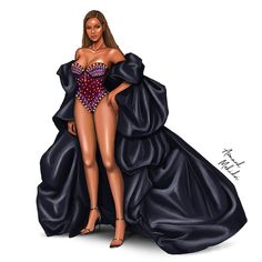 Award Show Dresses, Black Parade, Fashion Illustration Dresses, Fantasy Gowns, Fashion Figures, Fashion Design Sketches, Fashion Art, Vintage Dresses, Creations