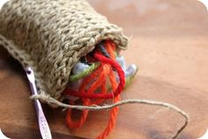 A knitted dish sponge and my trip to Purl Soho | Farmish Momma
