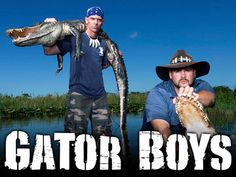 """""""Gator Boys"""" is another show that I like. It's about how they catch alligators and other clips and fun facts. The reason why it is inspiring is that it looks fun, but can be dangerous."""