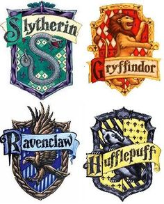 Harry Potter House Symbols For Tables