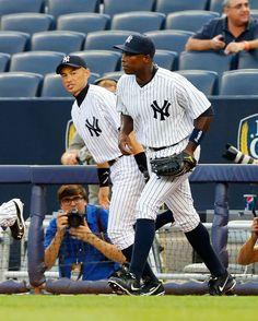 New York Yankees Suzuki and Soriano