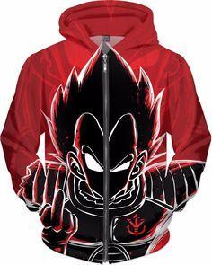Super Saiyan - Vegeta attitude -All over print Zip hoodie - RO00979ZH