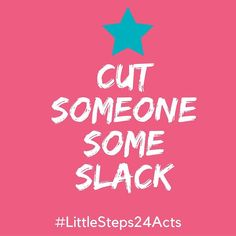 Random acts of kindness-day 13.  A little slack never hurt anyone...go on now and make someone (big or small) feel good.  #littlesteps24acts . . . #mylittlesteps #giveback #impact #kindness #randomactsofkindness #feelgood #quotes