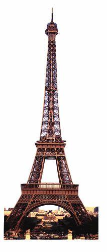 Paper House Productions - Paris Collection - Mini Die Cut Piece - Eiffel Tower at Scrapbook.com $0.31