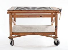 """Geeking Out Over Daniel Moyer's """"Workshop Tables"""" - Core77"""