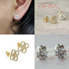 #jewelry #earrings #studearrings #diamondearrings #14kwhitegold #diamondearring #bridalearring #weddingearring #screwbackearring #fineearring #2caratdiamond #genuinediamond #engagementearring #solitaireearring #diamondstud #bridesmaidearring