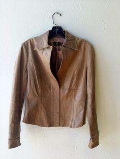 MNG olive green shiny leather jacket M #green #jacket #leather #mango #medium #mng #size-m
