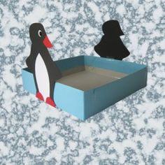 Trakteerdoos pinguin